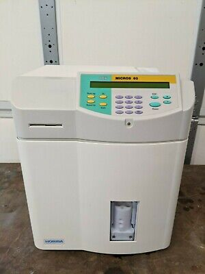 Abx Micros 60 Hematology Analyzer Used Condition