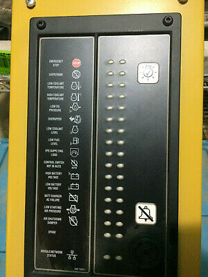Cat 304-9648 Generator Remote Audio Sound Annunciator Central Warning Panel