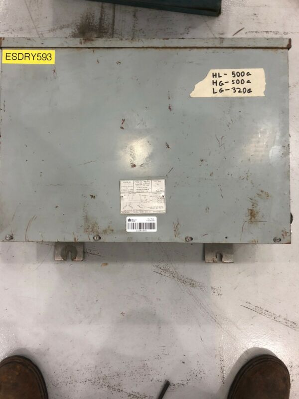 Federal Pacific Dry Type Transformer 15 kVA 480 Primary - 208/120 Secondary