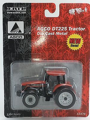 1/64 ERTL AGCO DT225 4WD TRACTOR W/ REAR DUALS