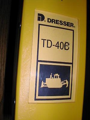 Komatsu Dresser Td-40b 40c Parts Manual Book Catalog Crawler Tractor Bulldozer