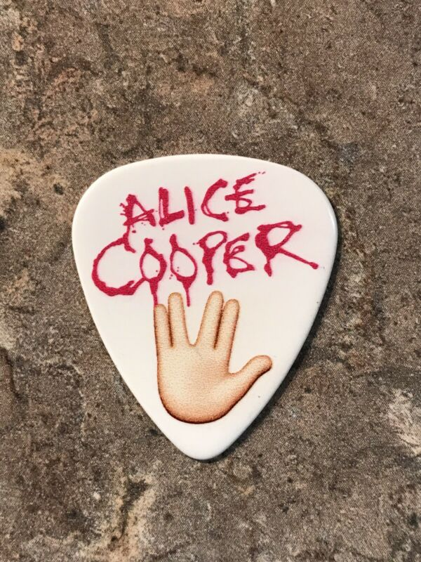 "Alice Cooper ""Tommy Henriksen"" 2019 Tour Guitar Pick-Very Rare"