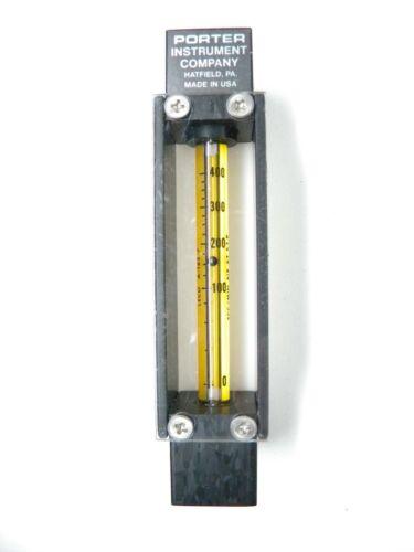 Porter Instrument Company flow gauge, leco A-125-7