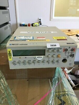 Fluke Philips Pm2525 Digital Multimeter