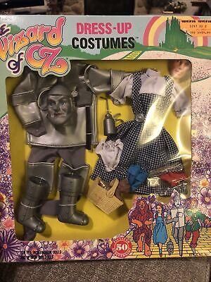 NIB BARBIE DOLL SIZE 1988 TURNER WIZARD OF OZ DRESS UP COSTUMES Dorothy Tin Man