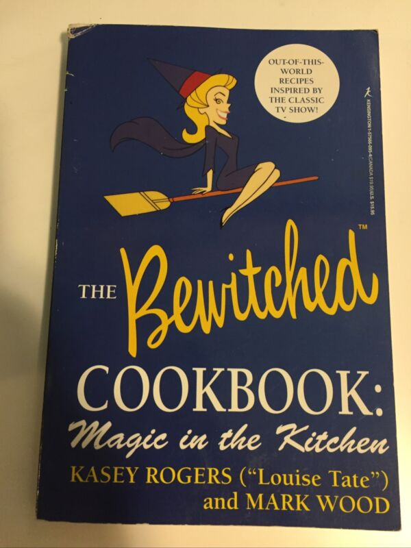 RARE The Bewitched Cookbook Magic in the Kitchen by Kasey Rogers 60's Tv Show