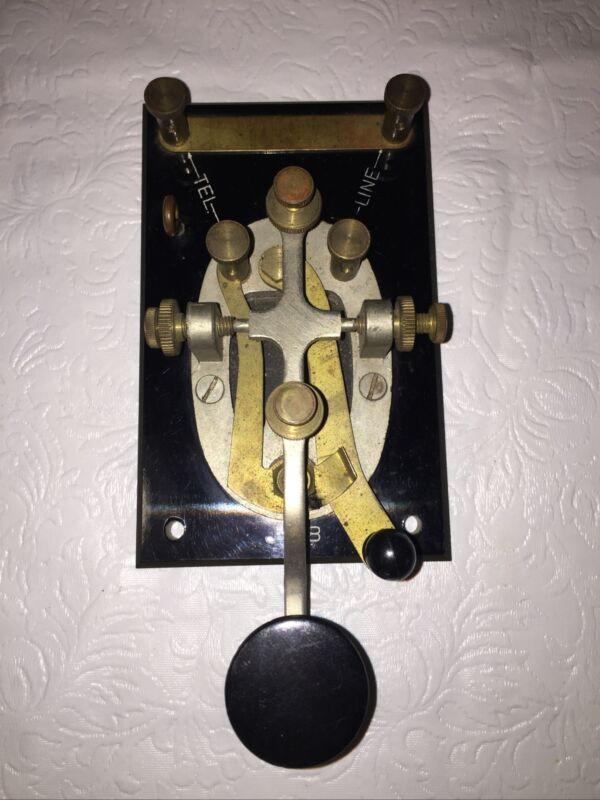 Vintage -- Telegraph Key - WWII - J-38