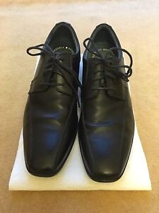 Boys Clarks leather school shoes - size 7.5E - nearly new Dover Heights Eastern Suburbs Preview