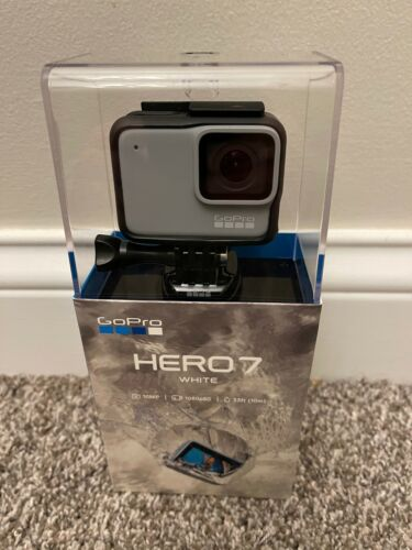 GoPro HERO7 Waterproof Digital Action Camera - White (CHDHB-601)  Free Shipping