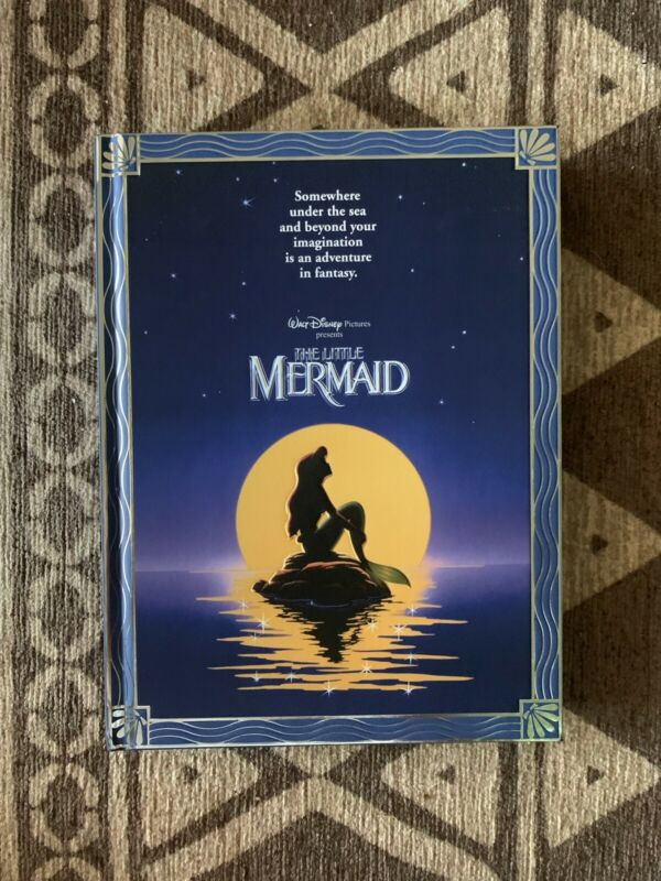 Disney The Little Mermaid Movie Poster Journal New With Tags