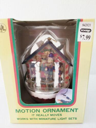 Vintage Eluceo Motion Nutcracker Christmas Ornament