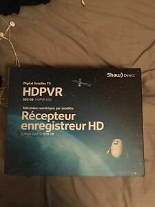 Shaw direct satellite receiver