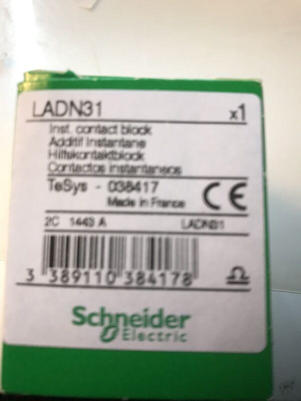 Telemecanique, LADN31 Schneider Contact Block Auxiliary