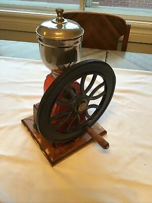 Vintage Coffee Grinder Cast Iron