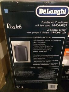 Delonghi air conditioner with heat pump
