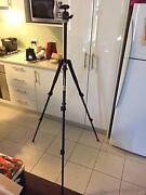 Manfrotto 190XB Tripod with 486RC2 Ball Joint Head Carnegie Glen Eira Area Preview