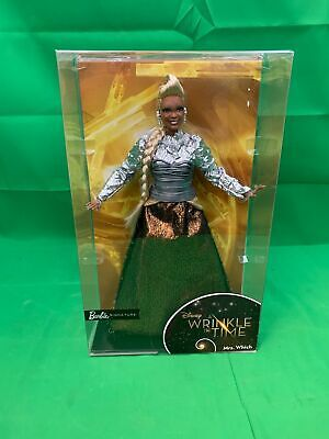 NEW A Wrinkle In Time Mrs. Which Barbie Doll Oprah Winfrey Disney Collectible