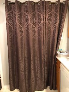 Set of 2 curtain panels