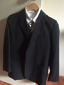 Fred bracks junior black suit with shirt Belmont Belmont Area Preview
