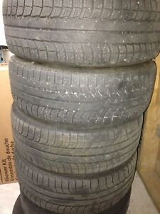 4-235/60R17 Michelin X-ICE winter tires