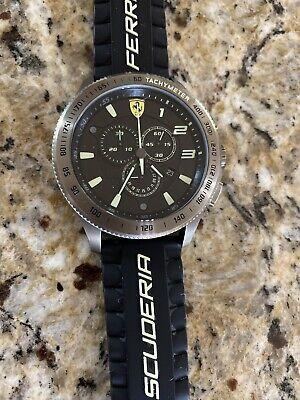 Scuderia Ferrari 830244 Race Fan XX Copper Chronograph Black Watch