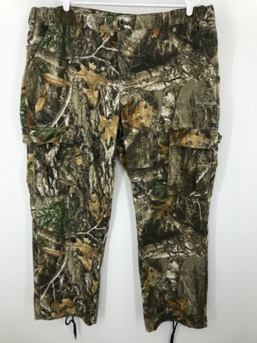 Realtree Pants 2XL XXL 44-46 Hunting Mens Woods Hunt Stretch Camo Camouflage