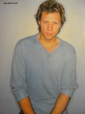 Jon Bon Jovi, Queensryche, Double Full Page Vintage Pinup