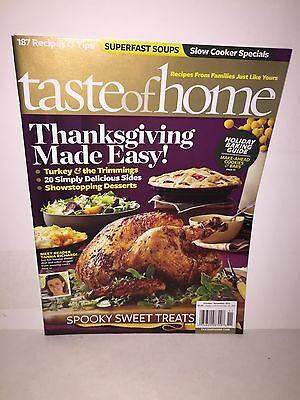 TASTE OF HOME Magazine Holiday Baking Guide Thanksgiving Halloween Oct/Nov 2012](Taste Of Home Halloween Magazine)