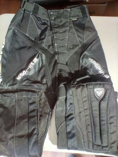 Empire react paintball pants adult size xl (36-38) black like new condition