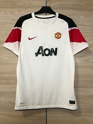 Manchester United 2010-11 Away Football Shirt Soccer Jersey XL Boys 13-15 years image