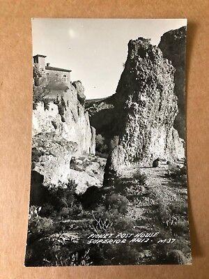 Vintage RPPC Picket Post House, Superior, Arizona AZ  (1939-50)