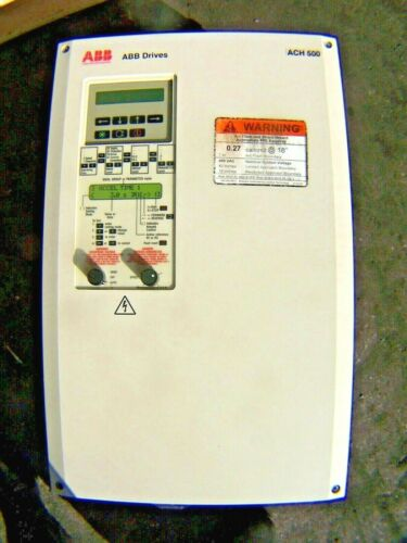 👀 ABB 40 HP VARIABLE FREQUENCY DRIVE 460 VAC 3 PHASE ACH501-040-4-00P2