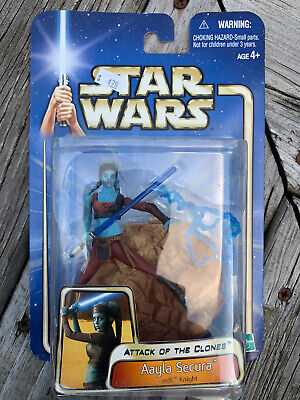 Hasbro Star Wars Attack Of The Clones Aayla Secura Jedi Knight Action Figure