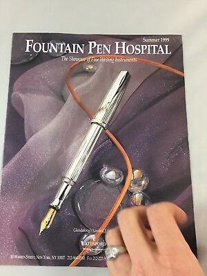 Fountain Pen Hospital Summer 1999 with price list RARE!!!