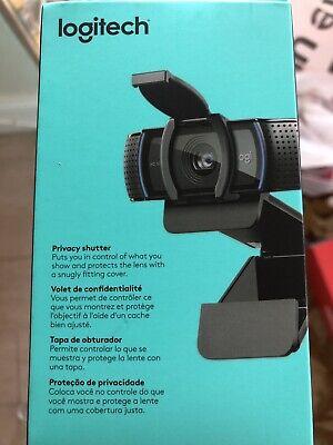 Logitech C920S Pro HD 1080p Webcam with Privacy Shutter SHIPS IMMEDIATELY FREE!