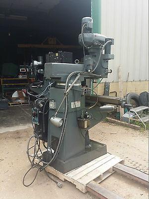 4 Hp Lagun 3-axis Cnc Vertical Knee Mill Anilam Crusader 2 Control 10x50 Table