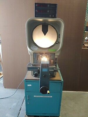 Deltronic Optical Comparator Dh14 - Dec With Heidenhain Readout