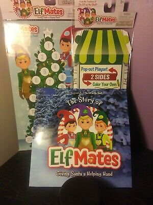 Elf Mates Shoe Shop Play set, Book and Advent Calendar NEW from Elf on the Shelf