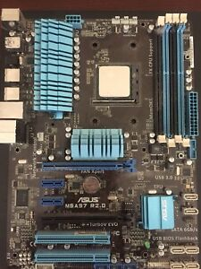 AMD FX-8320 CPU & Asus M5A97 R2.0 Motherboard