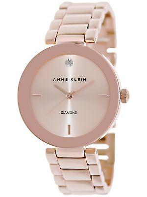 Anne Klein Womens Ak 1362Rgrg Rose Gold Stainless Steel Fashion Watch