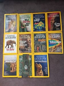 National Geographic Magazines 2009, 11 issues