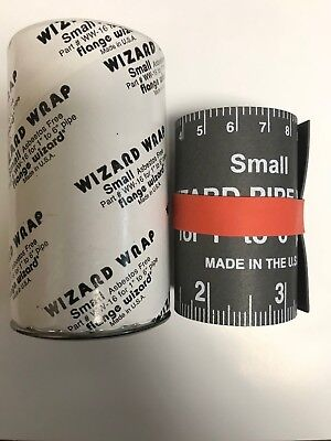 Flange Wizard Ww-16 Small Wrap 30 Long X 2-58 Wide For Pipe 1 To 6 Diameter