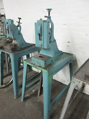 Ruesch 7 Heavy Duty Foot Stamping Kick Press 7 Ton Capacity