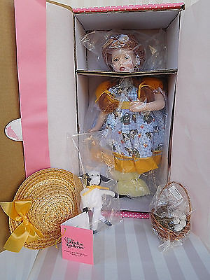 """Paradise Galleries 14"""" MOLLY MacDONALD Porcelain Doll by Patricia Rose ~ NEW/Box"""