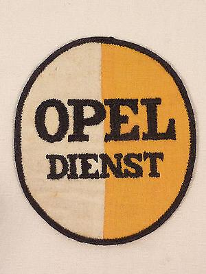 ORIGINAL AUFNÄHER OPEL DIENST UM 1930/40 FÜR ARBEITSJACKE WERKSTATTKITTEL