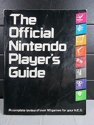 The Official Nintendo Player's Guide 1984 NES Strategy Guide