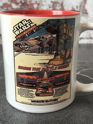 Star Wars Vintage 80s Parker Hoth AT-AT Snowspeeder Nintendo Video Game Mug