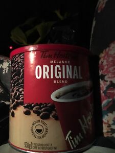 Brand new 6 cans Tim Hortons coffee $70