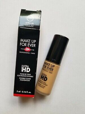 MAKEUP FOREVER Ultra HD Invisible Cover Foundation Y245 Travel Size 0.16 oz/ 5ml