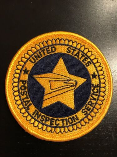 USPIS Inspection Service seal logo emblem patch star